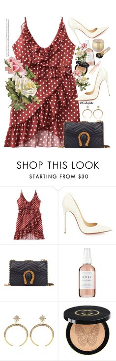 """""""Happy friday dears!!"""" by gabyidc ❤ liked on Polyvore featuring Christian Louboutin, Herbivore and Gucci"""