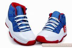 nike air jordan 11 captain america blue white red sneakers p 2798 Jordan 11  Blue b082ed86f