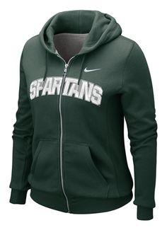 MSU Nike Women's MSU Full-Zip Hoody