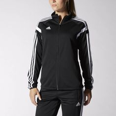 adidas soccer jackets for women