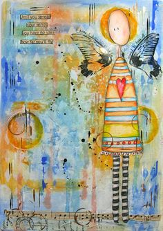Spread Your Wings ~ Kathryn Wheel