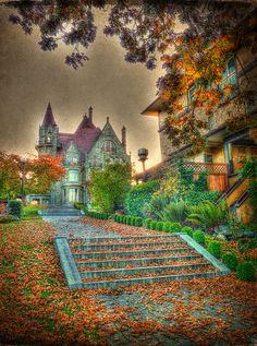 Haunted House .. Victoria, BC, Canada