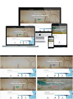 AT Solaren is Responsive Solar Energy Joomla template. It offers you easy and effective way to show products and services related to solar energy or to create a Joomla Themes, Browser Support, Joomla Templates, Responsive Layout, Google Fonts, Template Site, Natural Energy, Business Website, Solar Energy