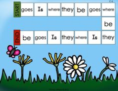 Use games to practice HFW/sight words - these are based on level C guided reading books