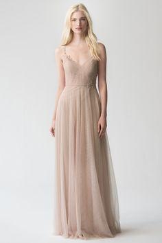 7cc2ad800cbd1 Brielle Appliqué. Wedding Party DressesTulle ...