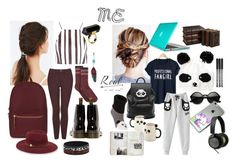"""""""#me"""" by allisjess ❤ liked on Polyvore featuring Hue, Urban Outfitters, Topshop, Dr. Martens, Herschel Supply Co., Vince Camuto, Monki, Freddy, John Lewis and Bang & Olufsen"""