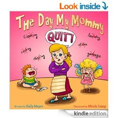 Beautiful rhyming picture book suitable for 2-8 year olds (Beginner Readers) Humorous tale of how the family tries to cope