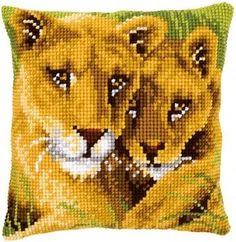 Pernă cu lei - kit