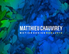 """Check out new work on my @Behance portfolio: """"showreel 2016"""" http://be.net/gallery/36864123/showreel-2016"""