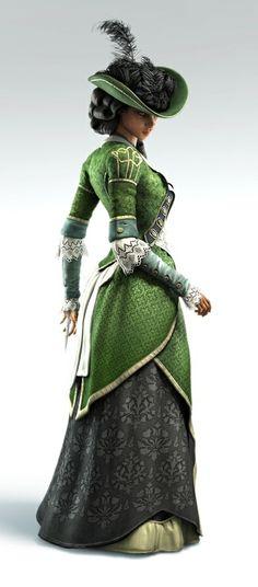 Aveline de Grandpré - noblewoman outfit (Assassin's Creed: Liberation - 2012) #assassinscreed #aveline