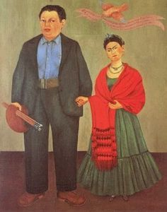 ....Diego Rivera and Frida Kahlo.  By Frida. 1931