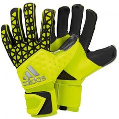 adidas Ace Zones Pro Yellow/Black Goalkeeper Gloves - model S90125 Soccer Boots, Football Boots, Keeper Gloves, Adidas Ace, Goalie Gloves, Goalkeeper, Yellow Black, Coaching, Model