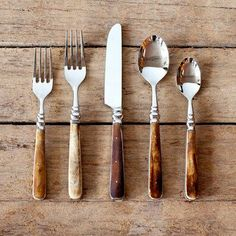 Gorgeous cutlery.
