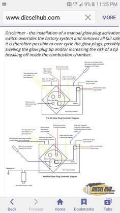 7.3 powerstroke wiring diagram Google Search work crap