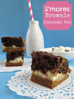 Crazy for Crust: S'mores Brownies