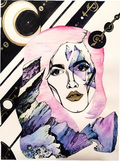 Hey, I found this really awesome Etsy listing at https://www.etsy.com/listing/249905442/halsey-picture-halsey-art-halsey-colors