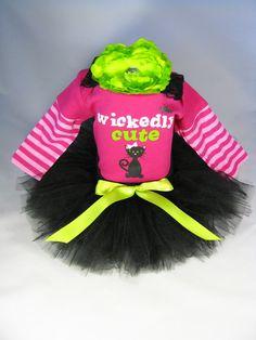 Wickedly Cute Halloween Tutu Set