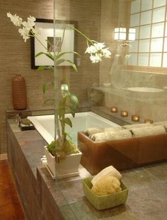 This clever homeowner uses a candela to hold both candles and ... on spa bathroom layout, spalook bathroom ideas, green bathroom ideas, spa bathroom vanities ideas, spa feel in bathrooms, conservatory design ideas, shop modern rustic design ideas, spa bathroom decor, spa like bathroom ideas, tv design ideas, cool bathroom sink ideas, hgtv spa bathroom ideas, earthy colors bedroom design ideas, spa bathroom trends, spa bathroom garden tub, spa bathroom lights, double vanity bathroom mirror ideas, spa style bathroom design, spa bathroom stone brown, spa bathroom mirrors,