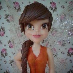 Fairy Fairies Fada em biscuit Fada porcelana fria fadas disney fada fawn
