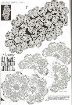 Materiales gráficos Gaby: Vestidos chalinas en crochet