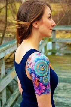 mini watercolor tattoos, wrist tattoos, tattoo ideas   DIY Watercolor Tattoo