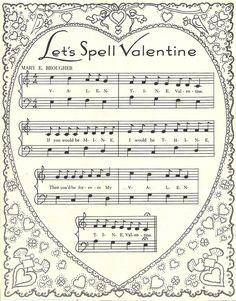vintage Valentine music