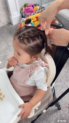 Cute Toddler Hairstyles, Easy Little Girl Hairstyles, Cute Girls Hairstyles, Easy Hairstyles For Long Hair, Hairstyles For Babies, Kids Braided Hairstyles, Princess Hairstyles, Girl Hair Dos, Kid Hair
