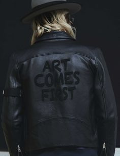 Art Comes First - Jagger biker jacket