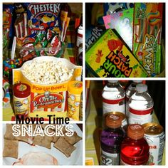 Teen snacks for the 3M Mobile Projector Fun Movie Watching night! #3MSummerFun