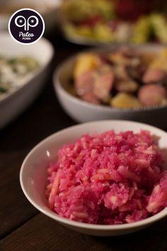 Red Cabbage with Apples Salad - Czerwona Kapusta z Jabłkami