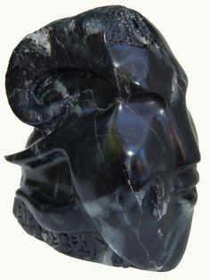 Sculpture Véronique Delalix-steatite
