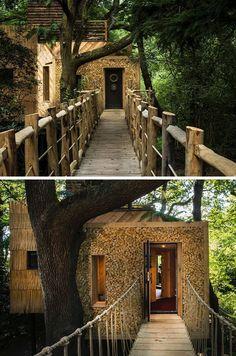 Dieses erstaunliche Baumhaus-Hotel wurde entworfen für Erwachsene auf Urlaub