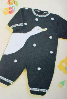 Modèle combinaison oie Pingorex Baby Layette