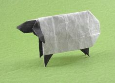 Origami Sheep, Toshikazu Kawasaki via Gilad's Origami Page