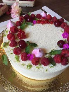 Торт Фисташка-Малина В Разном Оформлении