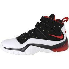 Nike Sharkley white red black