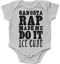 Ice Cube Onesie Baby Ice Cube