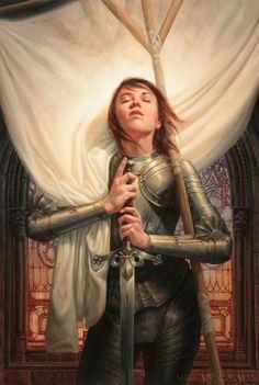 Joan Of Arc's Amazing Illustration