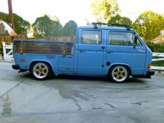 1982 Vw Doka Vanagon Double Cab Turbo Diesel Slammed And Stanced - Used Volkswagen Bus/vanagon for sale in Sunland, California Volkswagen Bus, Vw Bus T3, Vw T1, Vw Camper, Vw Doka, Vw Vanagon, Transporter T3, Volkswagen Transporter, Vw T3 Tuning