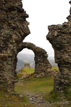 Castell Dinas Bran (North Wales) by Cat Edwards