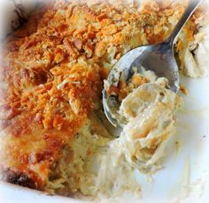 Chicken and Artichoke Casserole-The English Kitchen