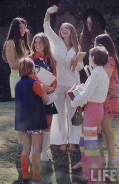 1969 fashion. Photo by Arthur Shatz for Life magazine.