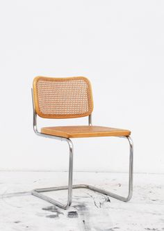 cesca chair by marcel breuer for thonet