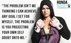 Tellin' it like it is! #armbarnation Visit RondaRousey.net