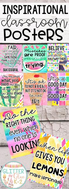 Inspirational Tropical Themed Posters (Includes Eleven Posters) - Looking for something beautiful and inspirational to brighten up your classroom? These posters incl - Year 6 Classroom, Classroom Door Signs, Classroom Welcome, Classroom Walls, Classroom Themes, Future Classroom, Inspirational Classroom Posters, Classroom Quotes, Classroom Organisation