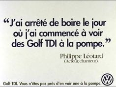 Golf TDI - Texte Philippe Léotard