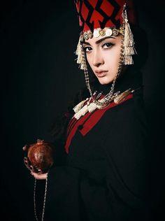 Armenian girl in traditional costume