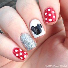 Disney Gel Nails, Disney World Nails, Disney Gel Nails, Disney Nail Art, Disney . Disney Gel Nails, Disney World Nails, Simple Disney Nails, Minnie Mouse Nails, Mickey Mouse Nails, Disney Inspired Nails, Simple Nails, Disney World Outfits, Disney Nail Designs