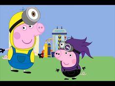 Peppa Pig y george pig: En aventuras de minions 2 | Capitulo completo en...