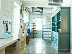 beach style home office by Mina Brinkey